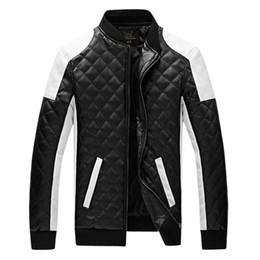 Wholesale leather jackets punk style men - HOT new man Slim washing PU Leather JACKET motorcycle Leather Jackets Coat Outerwear clothes plus size