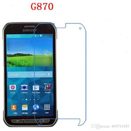 Wholesale Galaxy S4 Active I9295 - For Samsung Galaxy S4 S5 S6 S7 Active i9295 G870 G890 G891A Tempered Glass phone film Phone Phone film protective touch screen protector