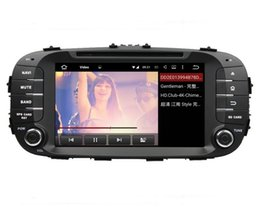 """Wholesale Soul Bluetooth - 1024*600 Quad Core 2 din 8"""" Android 5.1.1 Car dvd player for Kia Soul 2014 With GPS 3G WIFI Bluetooth Radio TV USB DVR 16GB ROM Car DVD"""