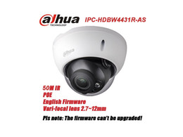 Wholesale Outdoor Camera Audio - New arrival Dahua IPC-HDBW4431R-AS replace IPC-HDBW4421R-AS 4MP IK10 IP67 IP camera with POE SD slot Audio 1 1 channel In Out free shipping