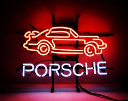 "Wholesale Neon Light Sign Car - 17""x14"" CAR AUTO POSTER BEER BAR ADVERTISING CLUB NEON LIGHT SIGN"
