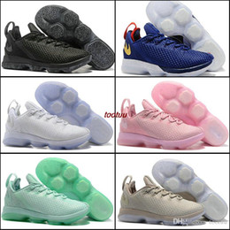 Wholesale China Latest Shoes - Latest LeBro 14 Basketball Shoes Sneakers Low Men Mens Man China LB James 14s XIV Red Air European Tennis Shoe Hombre Brand Sport Sneakers