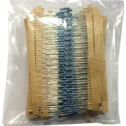 Wholesale Arduino Resistor - 600Pcs Pack 30 Kinds of Metal Film Resistors Kits, 1 4W 1%, Each Category 20, for Arduino Raspberry Pi Board Kit Test Board