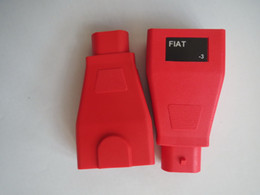 Wholesale Fiat Ecu - Autel Maxisys MS908 MS908P For FIAT -3 Pin Male To OBD2 16pin OBD Connector Free Shipping