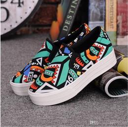 Wholesale Denim Wedges - cloth shoes platform sandals women wedges flip flops