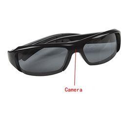 Wholesale Dv Dvr Sun Glasses Camera - New Full HD 1080P Sun Glasses Spy Hidden Sport Camera DVR Video Recorder Eyewear DV Cam Black