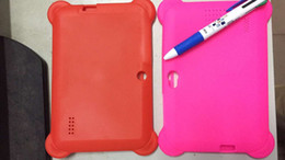 """Wholesale Q88 Silicon - 1pcs Anti Dust Kids Child Soft Silicone Rubber Gel Case Cover For Q88 7"""" Inch Android Tablet PC"""