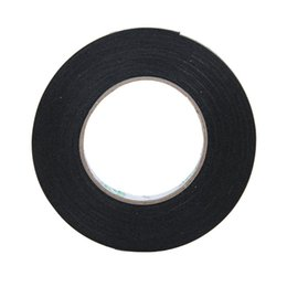 Wholesale Foam Tape Single Sided - Wholesale- 2016 Lovely Multifunction Black Sponge Foam Double Sided Adhesive Tape (20mm*10m)