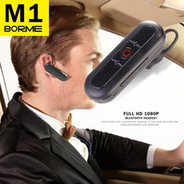 Wholesale Earbud Spy - New 2 in 1 Spy Mini DV HD 1920*1080P HIdden DVR Portable Camcorder With Wireless Bluetooth Headset In-Ear Earbud Supprot Handfree Talking