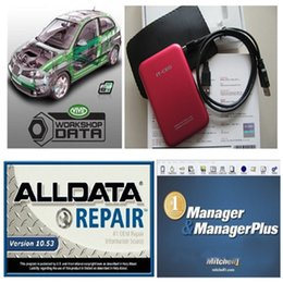 Wholesale Honda Repair Parts - HOT!!! new 161GB Mitchell Ondemand Repair with Estimator+ alldata 10.53+new big auto parts catalogueetc 6 in1 with 1TB New Hard Disk