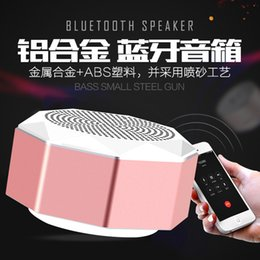 Wholesale Portable Truck Speakers - Wholesale Q5 wireless bluetooth 4.1 loudspeaker mobile phone mini low sound cannon portable outdoor truck load small stereo