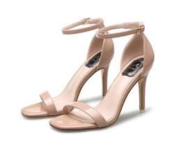 Wholesale Ms Summer - MS Women sandals Plus size 34- 39 buckle strap summer shoes woman fashion high heels Gladiator sandals women Sandalias