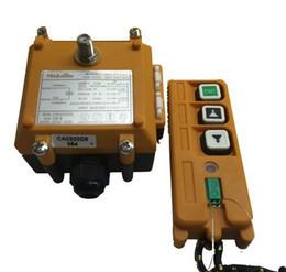 Wholesale Crane Remote - Wholesale- F21-2D(1 transmitter 1 receiver) Radio remote control hoist Wireless remote contro crane industrial remote control