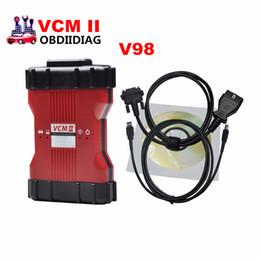 Wholesale Vcm Ii - Newest V98 VCM II VCM 2 in 1 Diagnostic Scanner For Ford & Mazda VCM2 IDS V98 Support 2015 IDS VCM 2 OBD2 Scanner