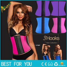 Wholesale Fitness Modeling - Shapers waist trainer modeling strap corsets steel slimming sheath belly cincher Shapewear fitness corset
