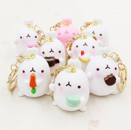 Wholesale Record Movies - Personality Potatoes Cartoon Cartoon Keychain Lady Bags Pendant Creative Boutique Key Chain KR025 Keychains mix order 20 pieces a lot