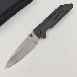 Couteau pliant poche pliante en Ligne-BEAR CLAW B0610 flipper couteau pliant S35VN lame Titanium + G10 poignée extérieure chasse camping poche fruits couteaux outils EDC