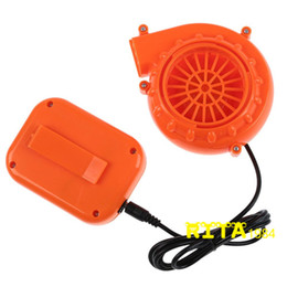 Wholesale Mascot Costumes Fans - Mini Fan Blower for Mascot Head Inflatable Costume 6V Powered by Dry Battery Free Shipping