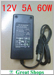 Wholesale power supply prices - Wholesale- Lowest Price New AC Converter Adapter For DC 12V 5A 60W LED Power Supply Charger for 5050 3528 SMD LED Light or LCD Monitor CCTV