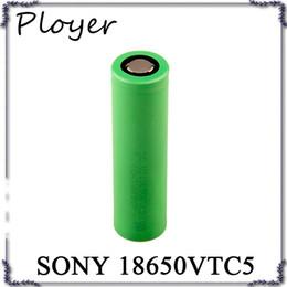 aa caricabatterie ricaricabili Sconti VTC5 batteria al litio 18650 ricaricabile VTC5 18650 batteria per e sigaretta mod e cig 18650 3.7 V 2600 mah