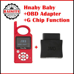 Wholesale Original Obd Bmw - Super function original jmd handy baby car key copy auto key programmer V8.2.1 for 4D 46 48 Chips + OBD Adapter + G Chip Function