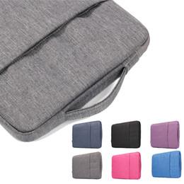 Wholesale Wholesale Asus Laptops - Laptop Bag Jean Handbag Macbook 11.6 12 13.3 15.4 inch Air Pro Retina Ultrabook Notebook Carrying Case For Acer Asus Dell Lenovo HP Samsung