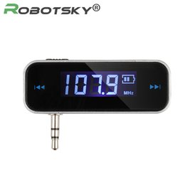 Wholesale Device Recorder - Wholesale- Hot Car FM Transmitter MP3 Players For Smart Phone Auto Player Audio Devices Fm Modulator LCD Display Car Accessories