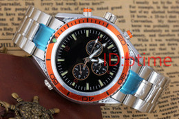 Wholesale Mens Automatic Diving Watches - Luxury New Automatic Mechanical Black men watches Sport Stainless Steel James Bond 007 Bracelet Mens Sport Diving Skyfall AAA watch