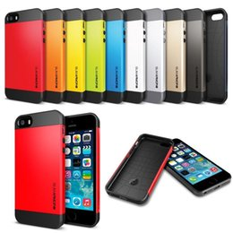 Wholesale Iphone Battery Leather - Ultra Slim Armor New Hard Back cellphone Protective Case Cover for iPhone 5 5s 6 6s Colors High Quality