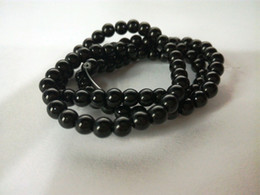 Wholesale Onyx Mm - New Black Onyx Agate Diy Handmade Natural Stone Beads For Jewellery Making Crystal Round Shape 4  6 8 10 12 mm Strand 15''