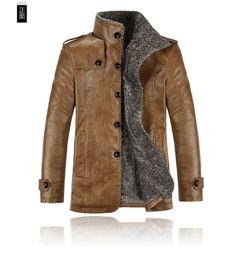 Wholesale Leather Jacket Men Wholesale - Wholesale- 2017 Spring autumn winter new Korean version hot sale men Thickening Warm PU Leather jackets china Cheap wholesale