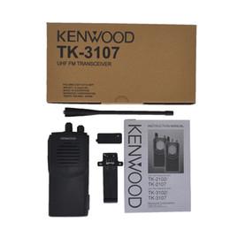 Radio di prosciutto online-TK3107 walkie-talkie radio bidirezionale tenuta in mano del ricetrasmettitore alta qualità Ham Radio TK-3207 TK-3207G TK3107