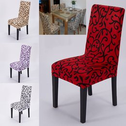 Wholesale Wholesale Dining Room Chair Covers - NEW Elastic Force Chair Cover Slipcovers Dining Room Wedding Party Banquet Short Chair Covers Home Textiles Chair Covers WX-C68