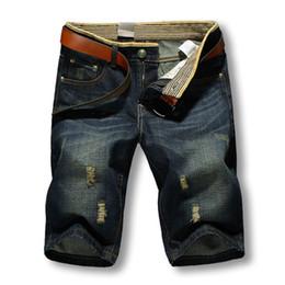 Wholesale Sale Wholesale Brand Clothing - Wholesale- 2017 Summer Men Short Jeans Men's Fashion Shorts Men Big Sale Summer Clothes New Fashion Brand Men's Short Pants 12004