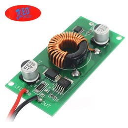 Wholesale Led Driver 12v Input - Wholesale- 2pcs lot DC input: AC 12V DC 12-24V OUT put 30-36v 20W Power Supply Electronic LED Driver Transformer Power Supply