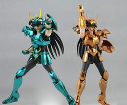 Wholesale Myth Ex - Dragon Shiryu V3 Version Final Cloth EX Metal Armor GREAT TOYS GT EX Bronze Saint Seiya Myth Cloth Action Figure