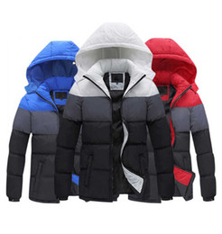 Wholesale Cotton Padded Jackets Men - AD Mens Jackets men's outwear cotton blended coats even hat cotton padded jackets leisure thick coat 2017 new winter coats.33898