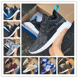 Wholesale Hard Plastic Duck - 2017 New Arrival NMD XR1 Boost Duck Camo Navy White Army Green for Top quality MND III Net Surface Running Shoes Size 36-45 Free Shipping