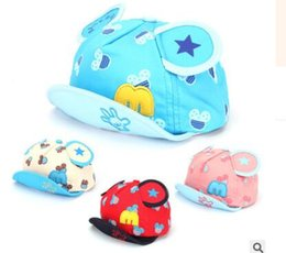 Wholesale Childrens Summer Hats - New Kids cartoon mickey hats wholesale childrens letters embroidered caps