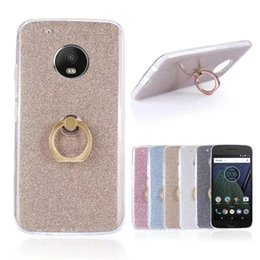 Wholesale E3 Case - Glitter Bling Soft TPU Silicone For Motorola Moto E4 Moto G5 G5S C Plus G6 E3 E4 Plus Z2 Play Stand Holder Case