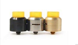 Электронные сигареты клоны онлайн-528 жлоб LP RDA клон Rebuildable капает распылитель 3 цвета Peek изолятор регулируемый контроль воздушного потока Fit 510 электронная сигарета Моды