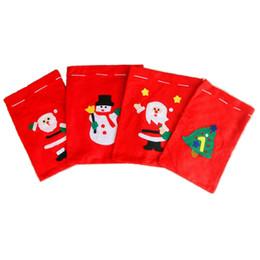 2019 flor de la luz de la luna Handcraft Christmas gift bag 4 size 20 * 30 30 * 40 40 * 60 50 * 70 Nonwovens Santa Claus Bag para niños de Professional Christmas Product Factory