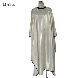 Wholesale Fashionable Hair Styles - Fashionable Hairdressing Gown Cape, Anti-Chemical Cloth Coated,Waterproof Polyester Hair Styling Cape For Professional Hair Salon