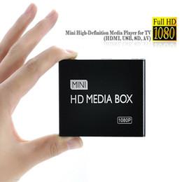 Al por mayor-2015 Nuevo Full HD 1080P Reproductor multimedia para coche HDMI, salida AV, lector de tarjetas SD / MMC / USB Host Envío gratuito desde fabricantes
