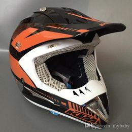 Wholesale Casco Motocross - Professional KTM Helmet Motocross Helmet Motorcycle Capacetes Casco freeshipping