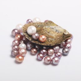 Wholesale Wholesale Oyster Shells - BIG PROMOTION 30PCS Akoya Oyster with AAA Grade 8-15 mm Multicolor Edison Freshwater Pearls Funny Gifts for Kids