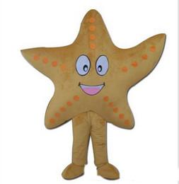Wholesale Starfish Cartoon - starfish Mascot Costume cartoon 2016 New Arrival Fancy Dress Suit Cartoon Mascot