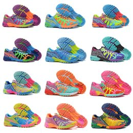Wholesale Noosa Tri - ASlCS Running Shoes For Women Gel-Noosa TRI 9 IX New Color Lightweight Walking Free Shipping Sport Shoes Size 5.5-8.5