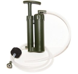 Wholesale Soldier Water - Portable Ceramic Soldier Water Filter Purifier Cleaner Cluster Water Pump Hiking Outdoor Camping Survival Tool Hydration Gear