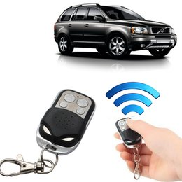 Wholesale Door Key Code - Wholesale-433 MHz RF Code Remote Control Copy 4 Channel Cloning Duplicator Key Fob A Distance Learning Electric Garage Door Controller